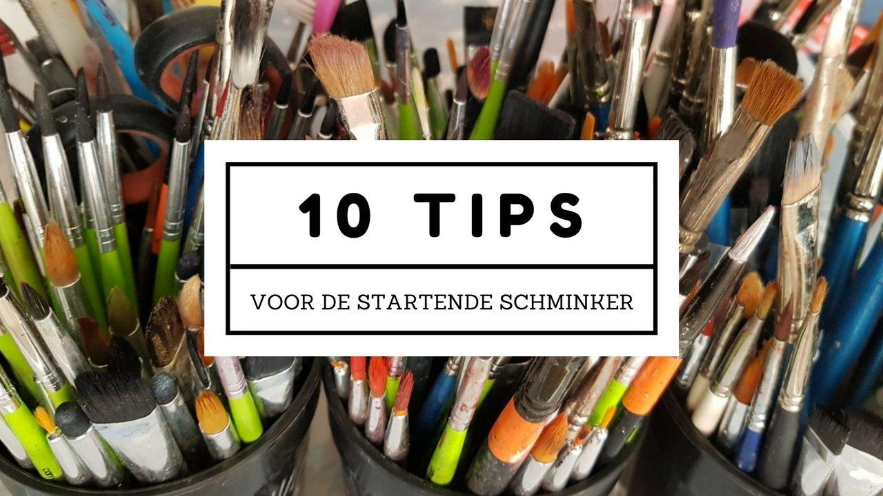 10 tips voor de startende schminker