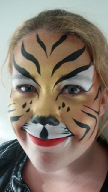 tijger schminken stap voor stap