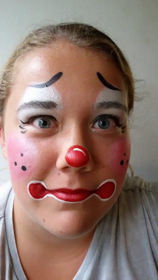 Schminkengrime Nl Schminkvoorbeeld Clown
