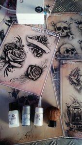 Stap voor Stap Tijdelijke Tattoo Voorbeeld en Impressie