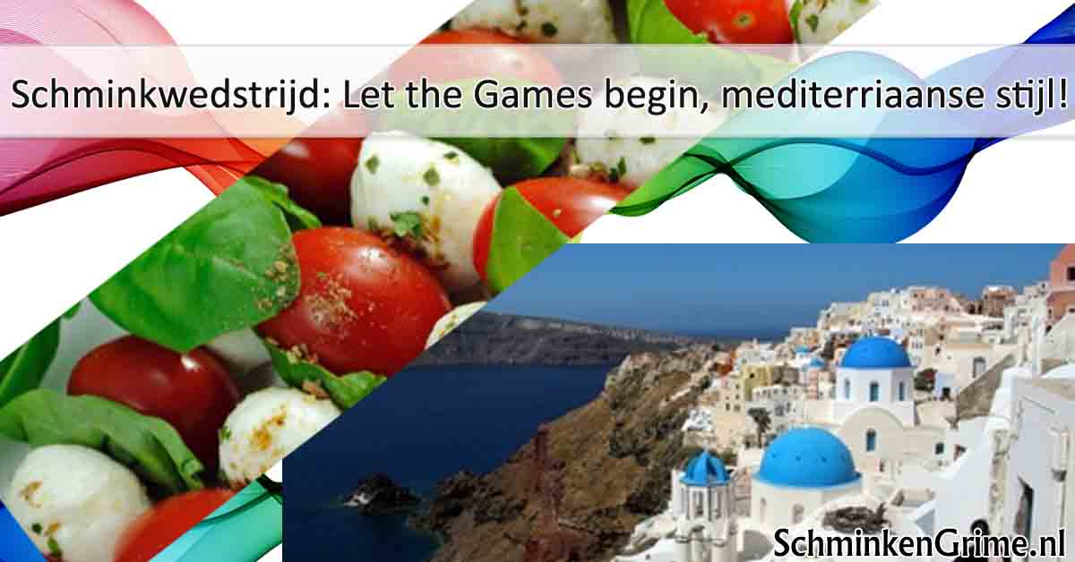 schminkwedstrijd let the games begin mediterriaanse stijl