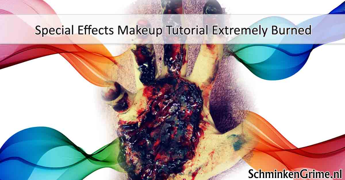Special Effects Makeup Tutorial Extremely Burned