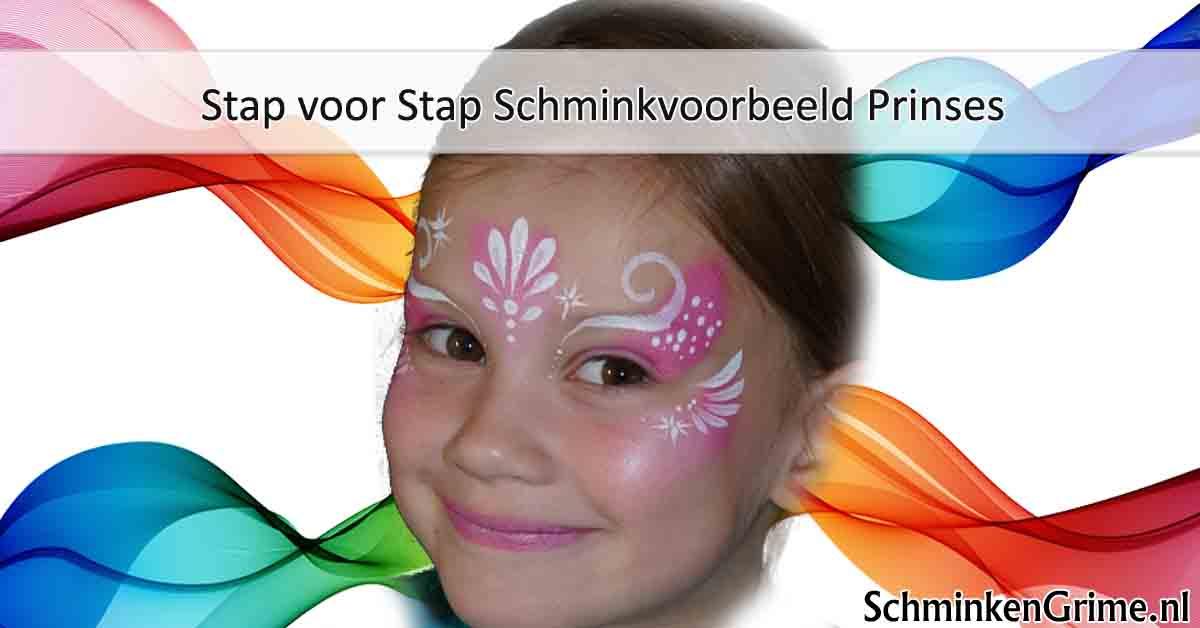 Zeer SchminkenGrime.nl blog | Stap voor Stap Schminkvoorbeeld Prinses &KP96