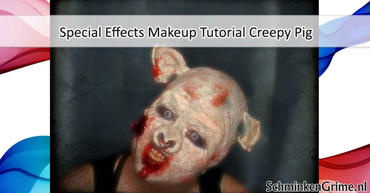 Special Effects Makeup Tutorial Creepy Pig