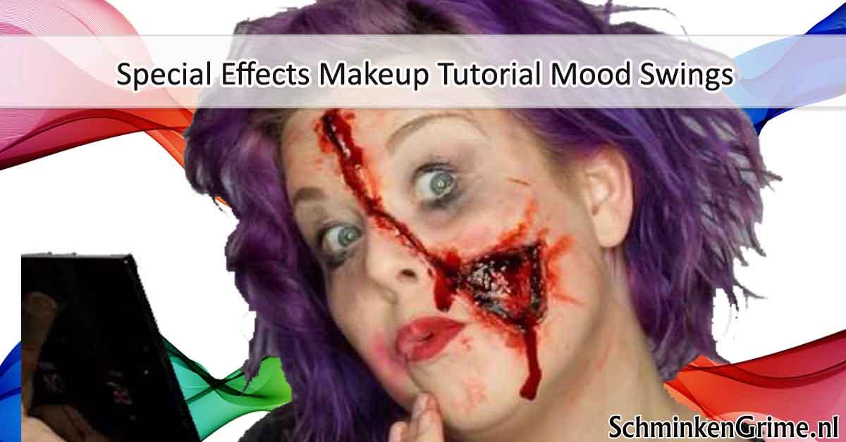 Special Effects Makeup Tutorial Mood Swings