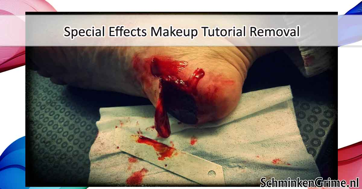 Special Effects Makeup Tutorial Removal