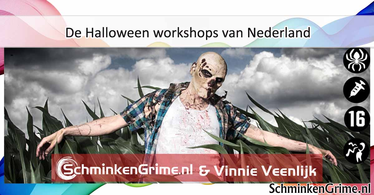 Vinnie presents de Halloween Workshops van Nederland