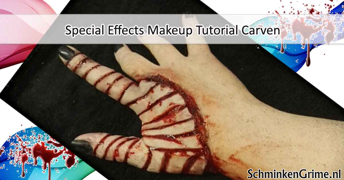 Special Effects Makeup Tutorial Carven
