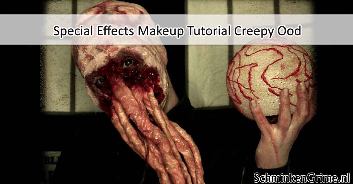Special Effects Makeup Tutorial Creepy Ood