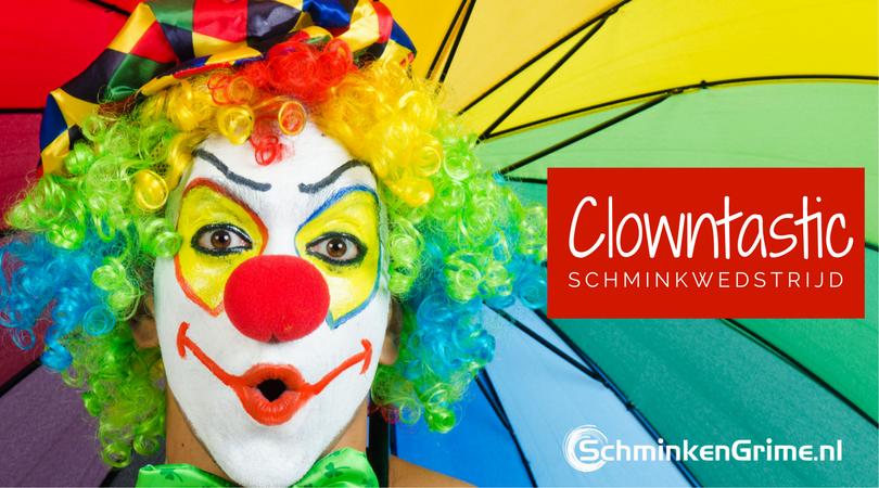 Clowntastic Schminkwedstrijd