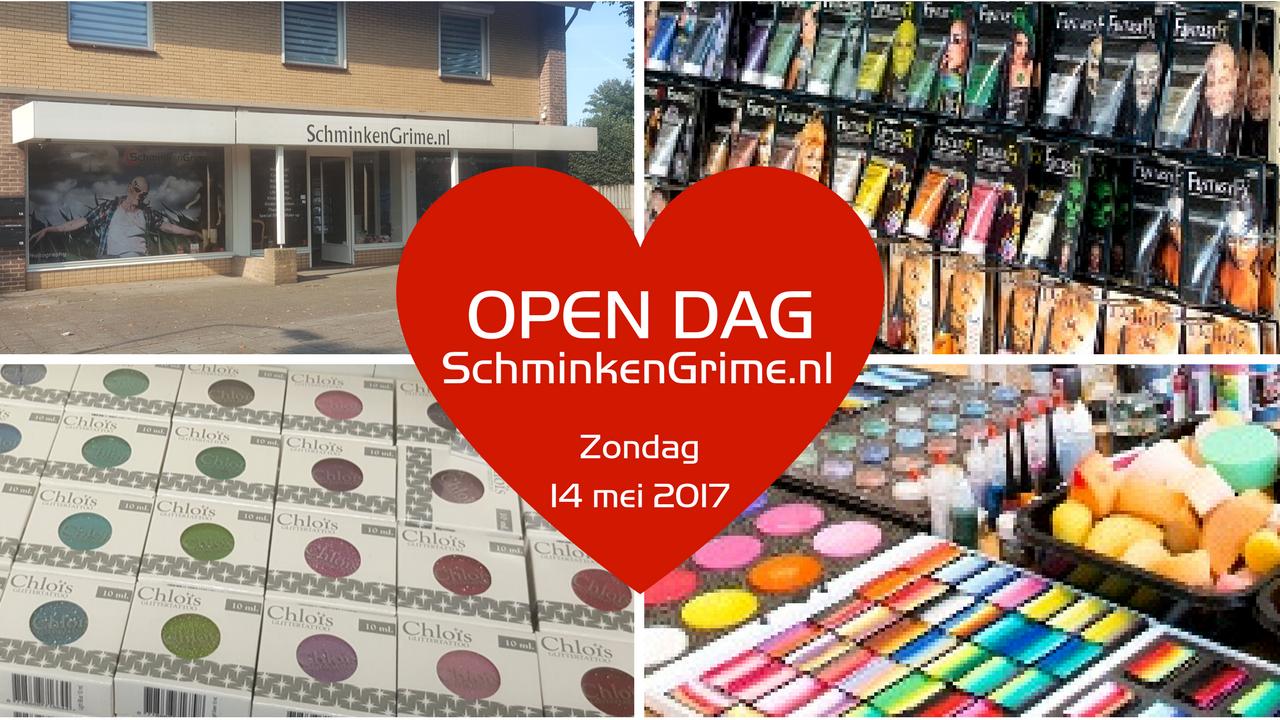 Open Dag | SchminkenGrime.nl