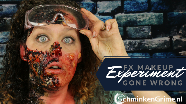 FX Makeup: Experiment gone wrong (making blisters)