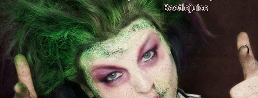 Special Effects Makeup Tutorial Beetlejuice