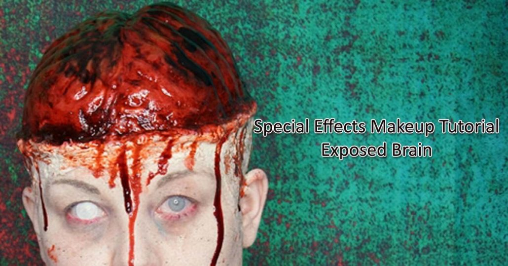 Special Effects Makeup Tutorial Exposed Brain