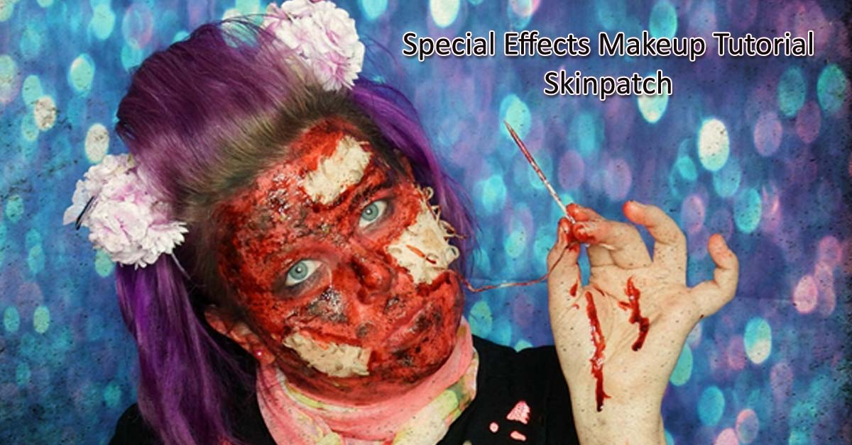Special Effects Makeup Tutorial Skinpatch
