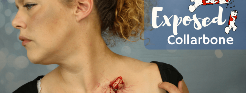 FX Makeup: Exposed Bone