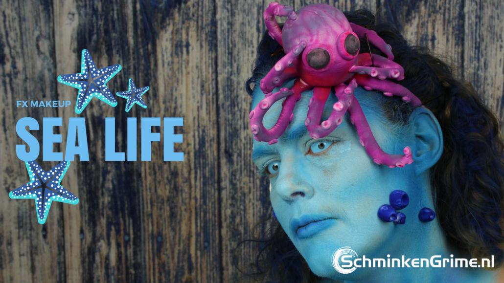 FX Makeup: Sea Life   Video Tutorial