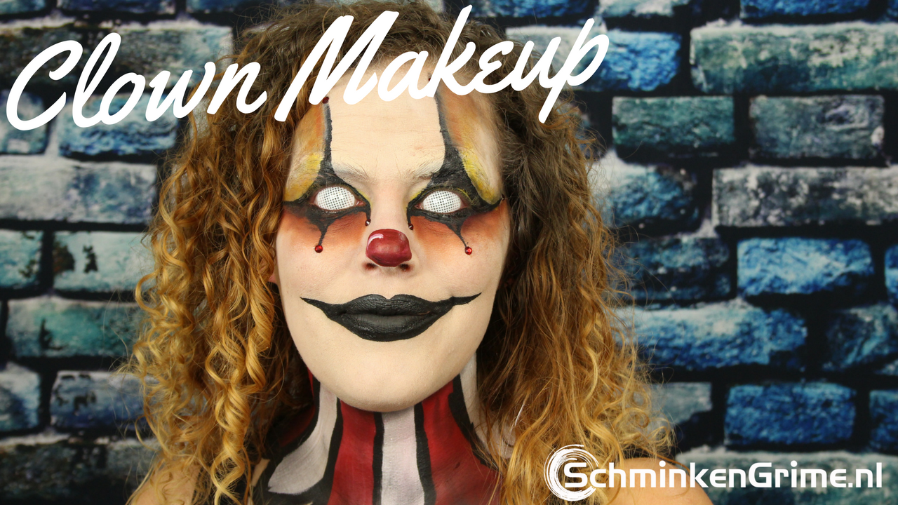 Clowns Makeup Tutorial