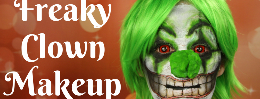 Freaky Clown Makeup Tutorial