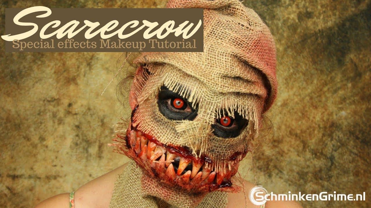 Scarecrow Makeup Tutorial | Halloween Look | Special Effects Makeup