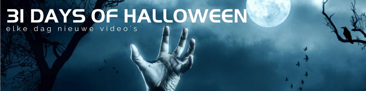 31 days of Halloween 2017