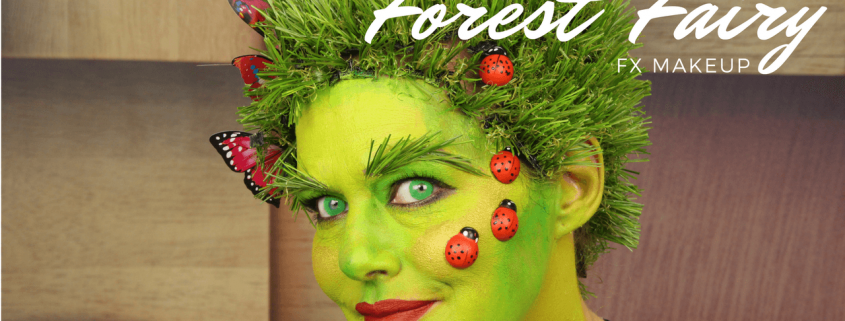 Forest Fairy Makeup Tutorial   Halloween Makeup   Video Tutorial