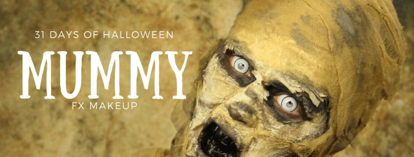 Mummy Makeup Tutorial   Halloween Makeup   Video Tutorial