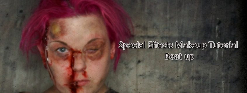 Special Effects Makeup Tutorial Beat up