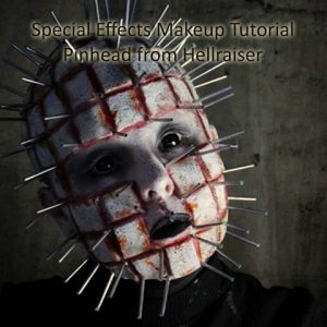 Special Effects Makeup Tutorial Pinhead product