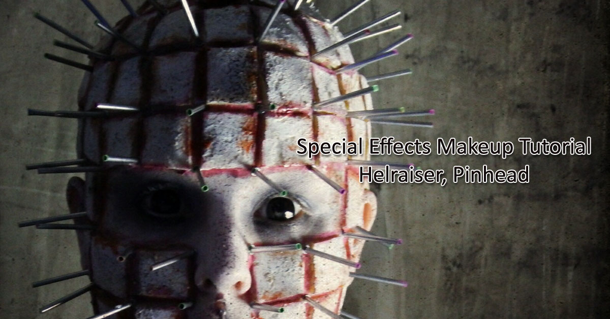 Special Effects Makeup Tutorial Pinhead