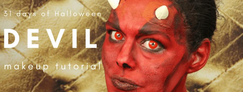 Devil Makeup Tutorial   Halloween Makeup   Video Tutorial