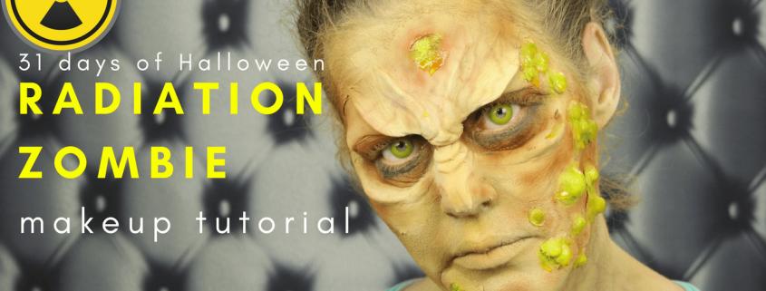 Radiation Zombie Makeup Tutorial   Halloween Makeup   Video Tutorial