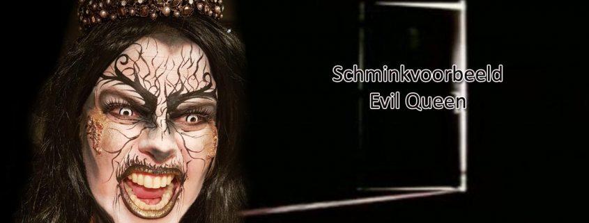 Schminkvoorbeeld Evil Queen