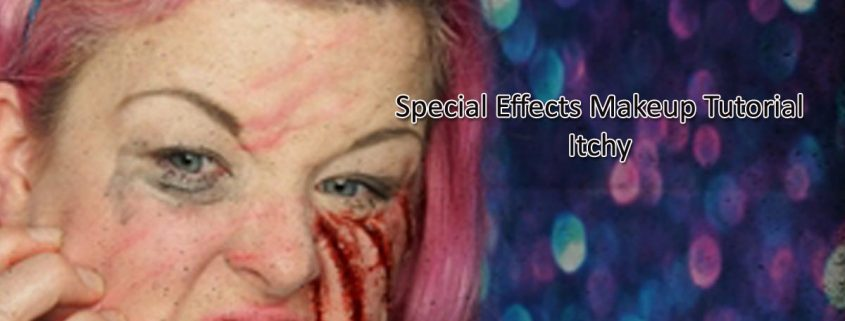 Special Effects Makeup Tutorial Itchy