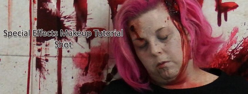 Special Effects Makeup Tutorial Shot