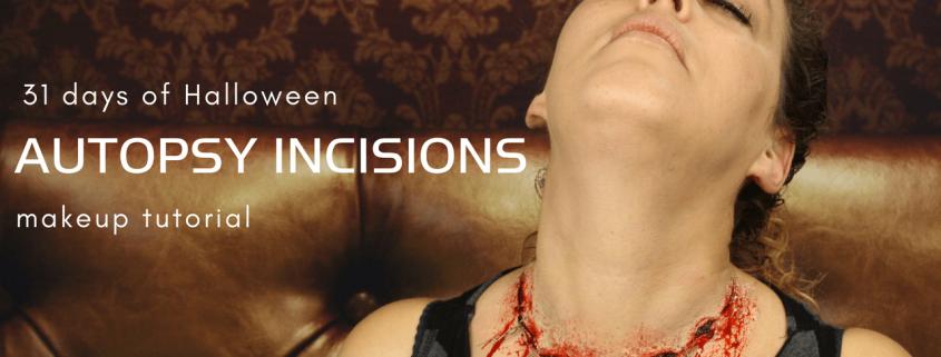 Autopsy Incisions Makeup Tutorial   Halloween tutorial   Video Tutorial