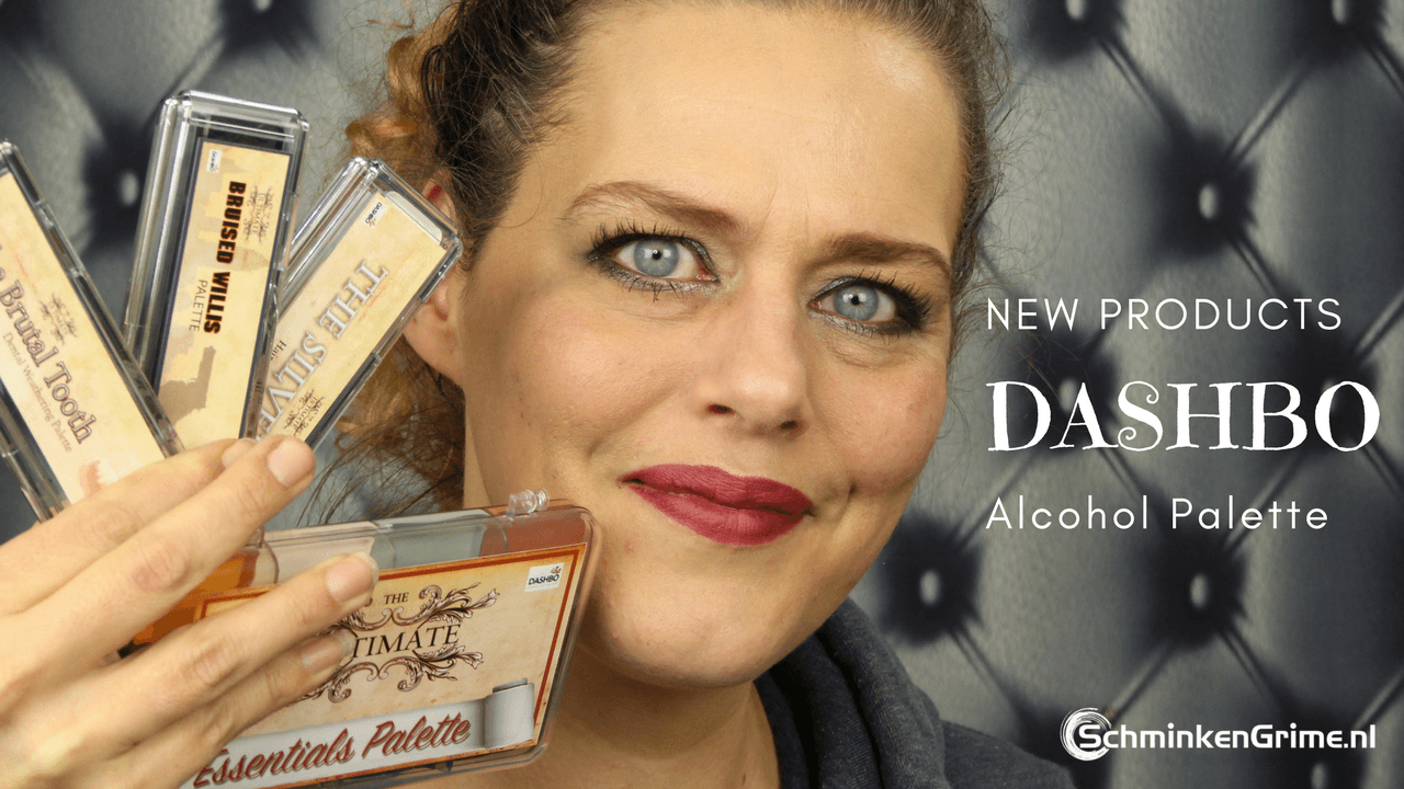 NIEUW! Dashbo Alcohol Activated Palettes