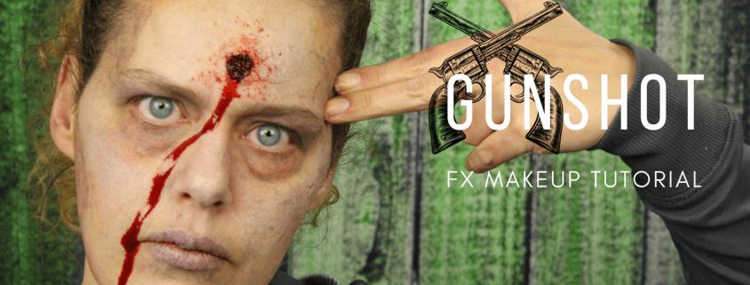 Gunshot Wound Makeup Tutorial | Video Tutorial