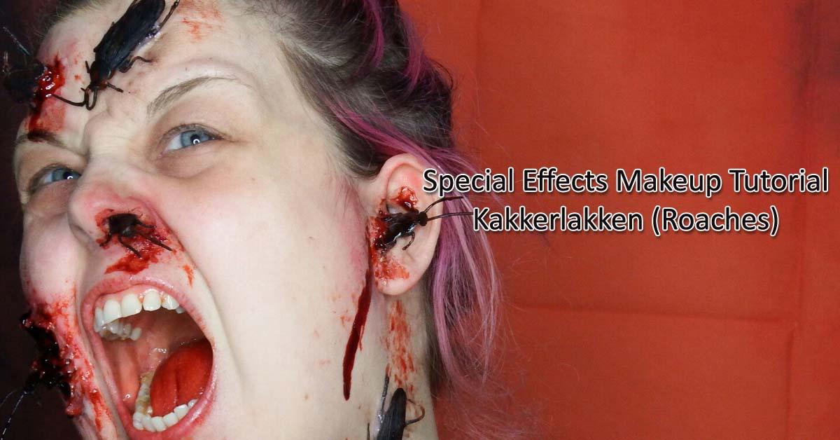 Special Effects Makeup Tutorial Kakkerlakken (Roaches)