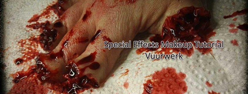 Special Effects Makeup Tutorial Vuurwerk