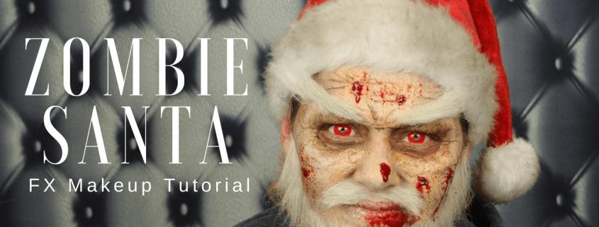 Zombie Santa FX Makeup Tutorial | Video Tutorial