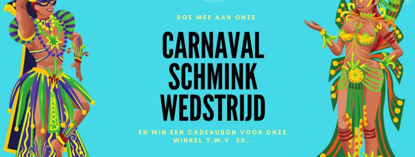 Carnaval Schminkwedstrijd | Schminkengrime.nl