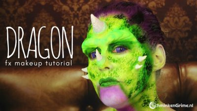 Dragon Special Effects Makup Tutorial