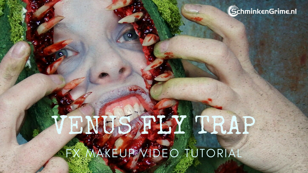 Special Effects Makeup Video Tutorial Venus Fly Trap