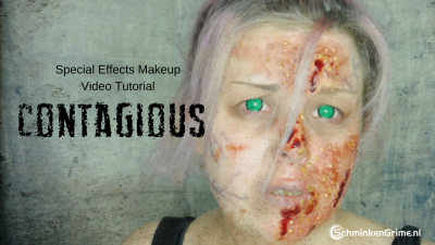 Special Effects Makeup Video Tutorial Contagious