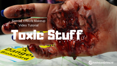 Special Effects Makeup Video Tutorial Toxic Stuff