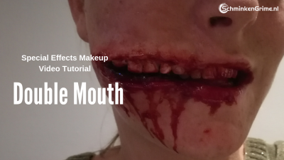 Special Effects Makeup Tutorial Double Mouth