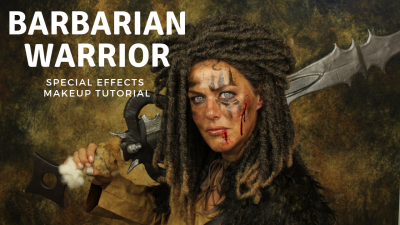 Special Effects Makeup Video Tutorial Barbarian Warrior
