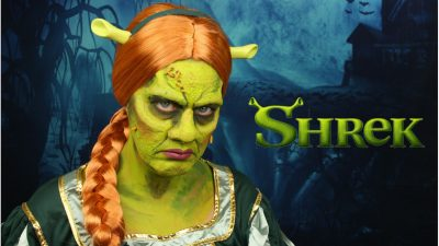 Princess Fiona Special Effects Makeup Tutorial | Shrek Makeup Tutorial