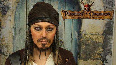 Captain Jack Sparrow Makeup